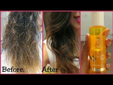How To Use Hair Serum | Matrix Biolage Deep Smoothing Serum | Review | Hindi