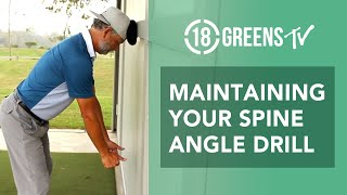 Maintaining Your Spine Angle Drill