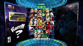 Marvel Vs Capcom 3 : Let's play without commentary Part 1