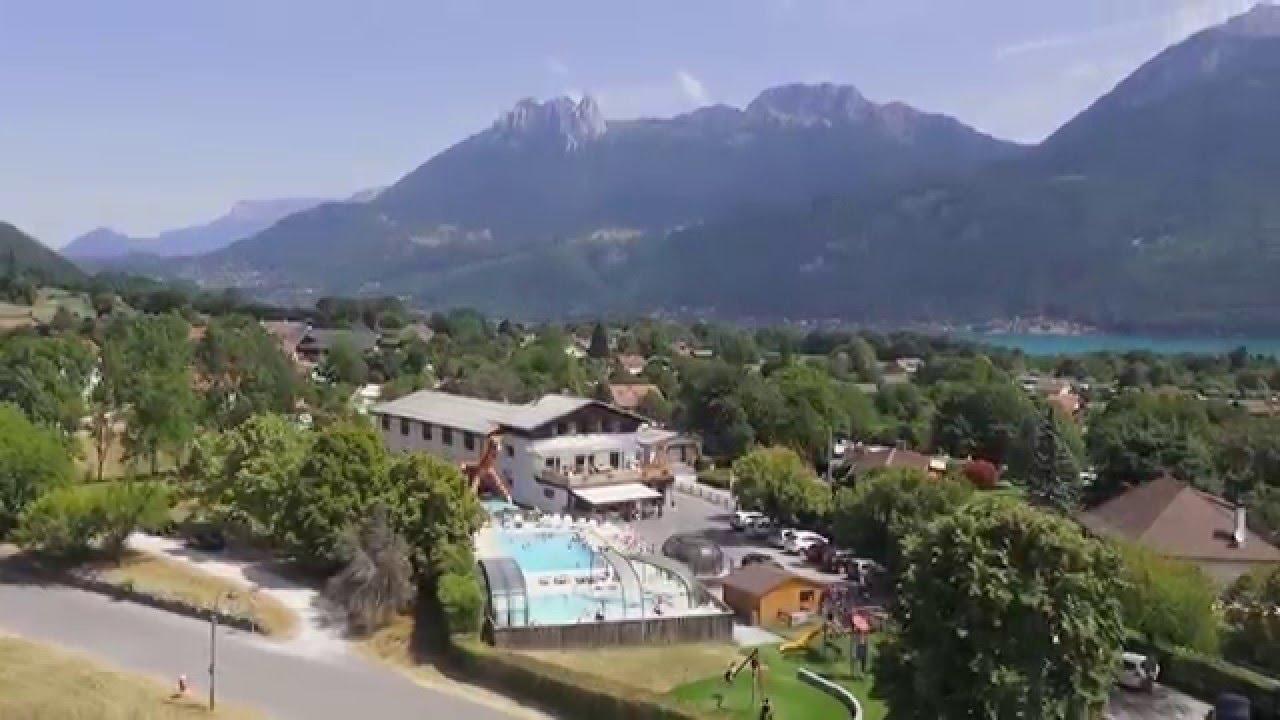 Camping la ferme lac d 39 annecy youtube - Camping lac d annecy avec piscine ...