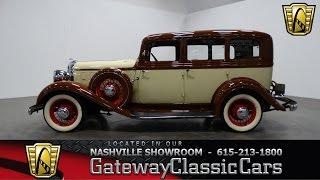1933 Chrysler 4 Dr Sedan,Gateway Classic Cars-Nashville#353