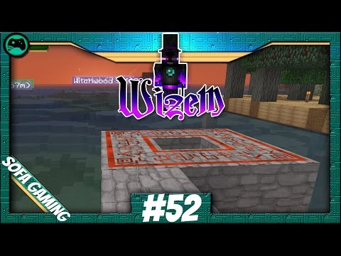 MINECRAFT: Wizem #52 Warten auf Regen | Magic World 2 | Sofa Gaming