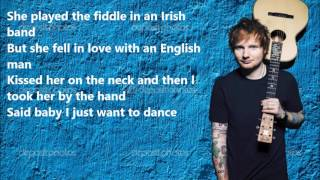 Download lagu Ed Sheeran Galway Girl LYRICS VIDEO