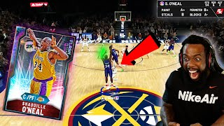 SHOOTING 3's w/ SHAQ! MOST OVERPOWERED 99 OPAL IN MYTEAM EVER! NBA 2K20