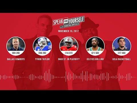 SPEAK FOR YOURSELF Audio Podcast (11.15.17) with Colin Cowherd, Jason Whitlock | SPEAK FOR YOURSELF