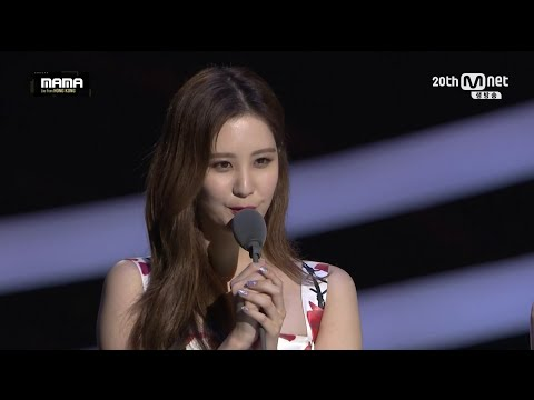 MAMA Awards 2015 Best Female Group - Girls' Generation SNSD!!!