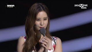 MAMA Awards 2015 Best Female Group - Girls' Generation SNSD!!!