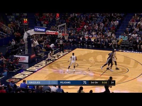 3rd Quarter, One Box Video: New Orleans Pelicans vs. Memphis Grizzlies