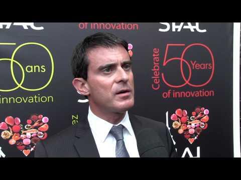 Interview de Manuel Valls - SIAL 2014