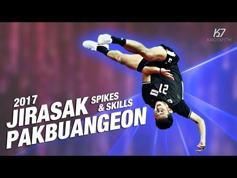 Sepak Takraw ● Jirasak Pakbuangeon ● Spikes & Skills | 2017 | HD