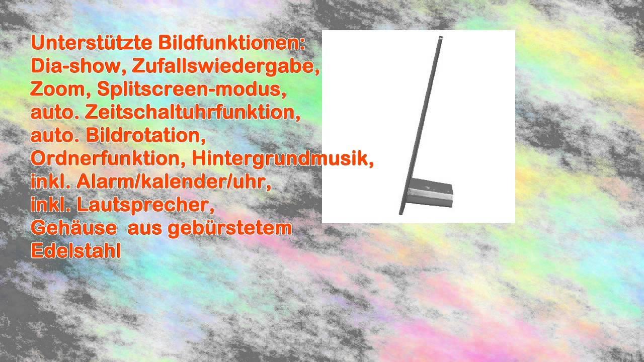 Hama 95276 Steel Premium Digitaler Bilderrahmen 246 cm 97 Zoll ...