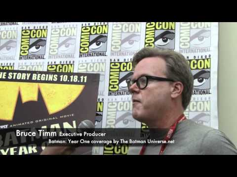 Batman: Year One Interview with Bruce Timm