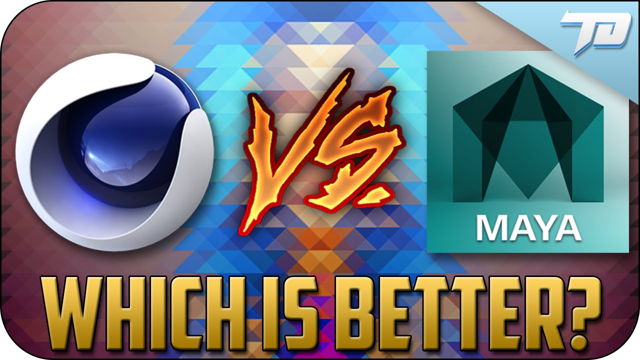 CINEMA 4D VS MAYA | Which Is Better And When To Use Each