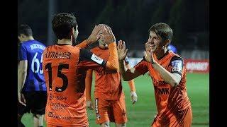Голы Евсеева и Эль-Кабира, а также другие опасные моменты матча «Урал» - «Шинник»