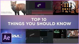 بعد الآثار: أفضل 10 أشياء يجب أن تعرف كيفية إنشاء