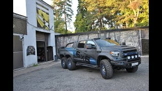 Toyota Tundra 6x6 made in Russia