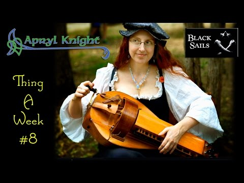 "Apryl Knight's Thing A Week #8 - ""Black Sails"" (cover)"