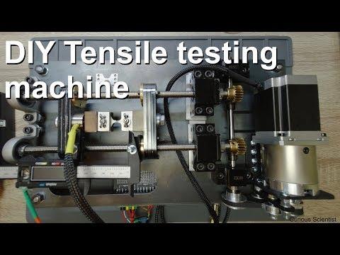 DIY Miniature Tensile Testing Machine
