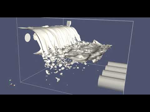 IsoAdvector outfall test case