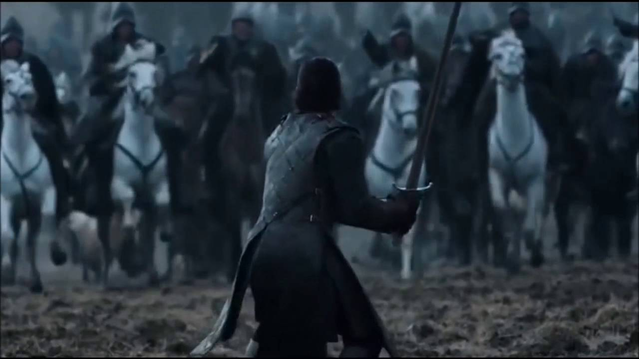 Jon Snow Battle Of The Bastards What The Fuck Is Going On