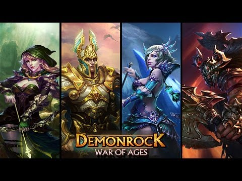 Official Demonrock - War of Ages Launch Trailer