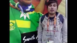 Na obisku pri Maradoni Messi, bog in jaz