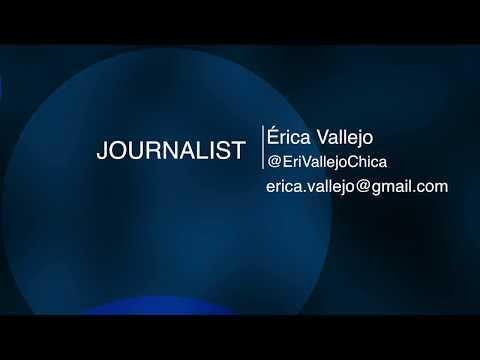 Reel Érica Vallejo - Colombian Journalist