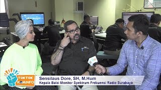 #TokTokKominfo Eps 22, Kepoin Balai Monitor Surabaya, Pak Sensilaus Dore, Kepala Balmon Surabaya