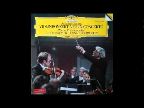Gidon Kremer, Brahms Violin Concerto in D major Op.77, Leona