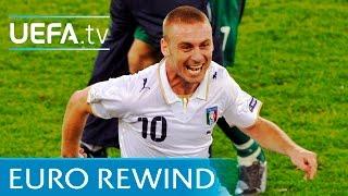 EURO 2008 highlights: France 0-2 Italy