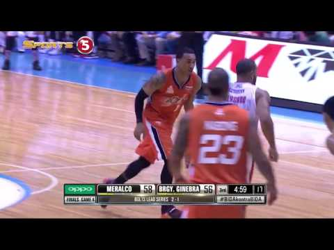 Meralco Bolts at Barangay Ginebra San Miguel: Game 4