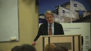 "Robert J  Shiller's Lecture On His New Book ""Phishing For Phools"""