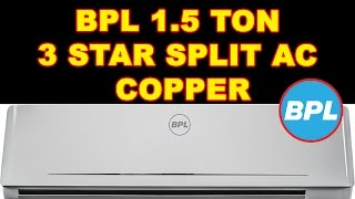 BPL 1.5 Ton 3 Star Split AC Copper, BAC18K3CHL