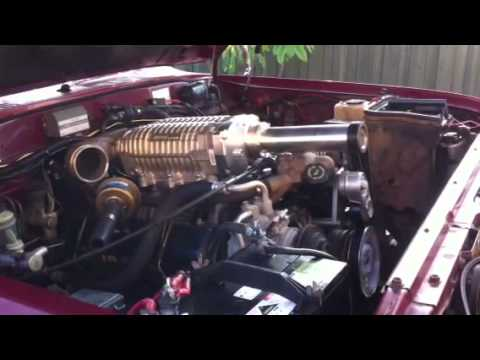 supercharged  chev diesel youtube