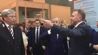 Начальник ПривЖД познакомил Игоря Шувалова с проектом парковки на вокзале