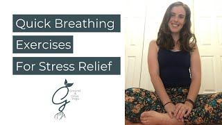 Breathing Techniques for a Quick Reset when you are Stressed!