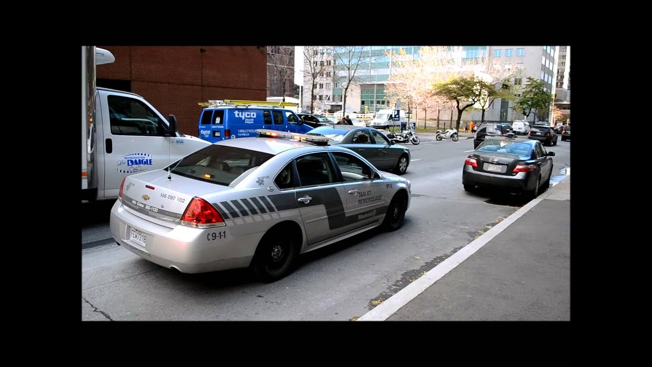 montreal taxi bureau chevy impala police car youtube
