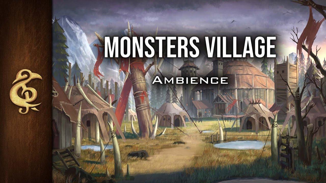 Monsters' Village | RPG Ambience | 3 Hours