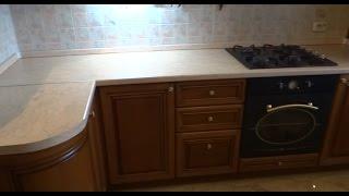 видео Столешница для кухни своими руками: как сделать и обновить самостоятельно, монтаж