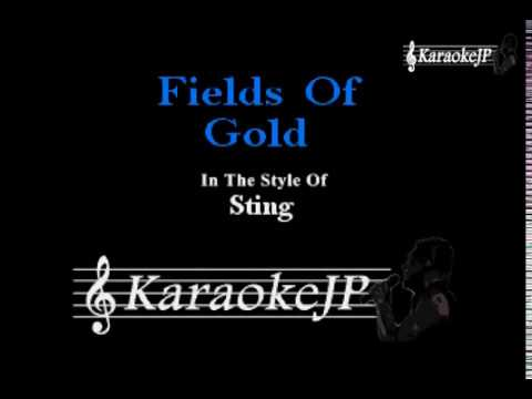 Fields Of Gold (Karaoke) - Sting