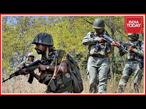 Gunfight Between Security Forces And Terrorists In Anantnag, J&K