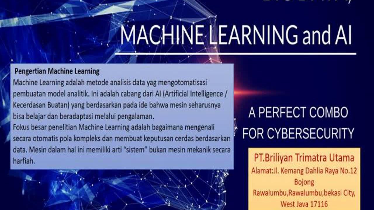 TLP / WA +62 813 – 8143 – 2012 big data and machine learning data ...