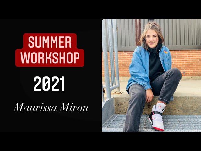 Summer Workshop 2021 - Maurissa Miron