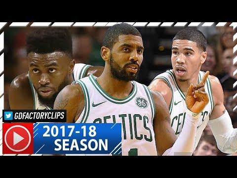 Kyrie Irving, Jaylen Brown & Jayson Tatum SICK Highlights vs Knicks (2017.10.24) - TOO GOOD!