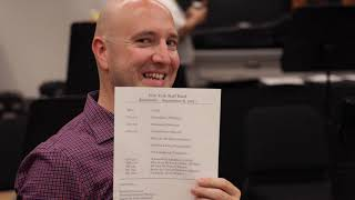 First Rehearsal of 2021/2022 Season / NYSB Band Room Tour (Let There Be Light - Steven Ponsford)