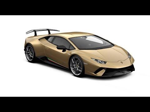 Lamborghini huracan colors
