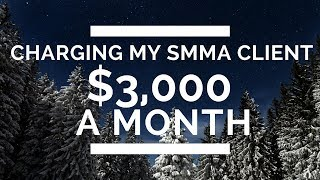 Charging My SMMA Client $3,000 A MONTH With My **Social Media Marketing Proposal**