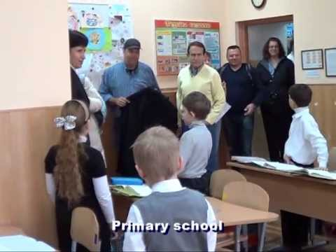 Metro West Federation visit to Odessa ORT school