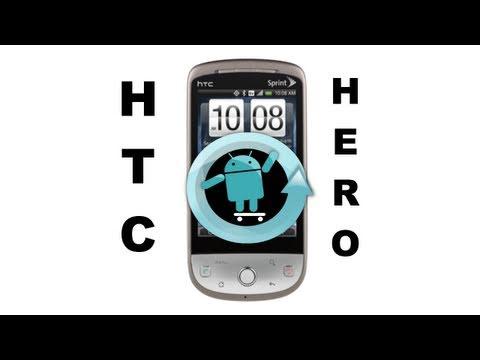 HTC Hero How To Install CyanogenMod 6