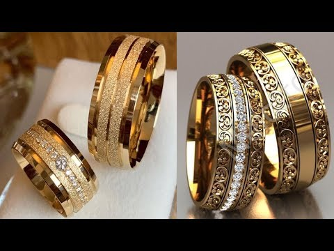 gold-couple-wedding-rings-designs-||-beautiful-new-couple-weddding-rings-designs-||-engagement-rings